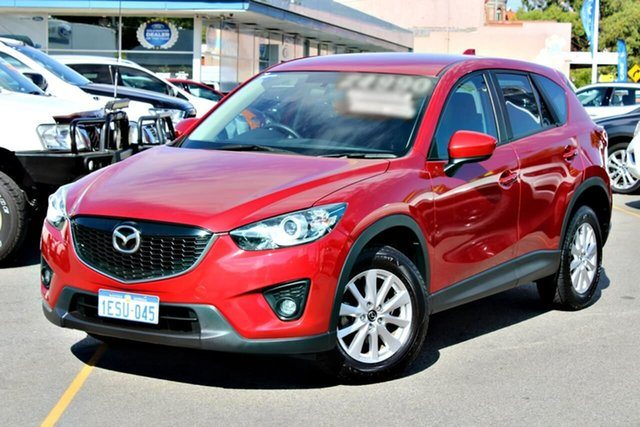 Used Mazda CX-5 KE1021 MY14 Maxx SKYACTIV-Drive AWD Sport, 2014 Mazda CX-5 KE1021 MY14 Maxx SKYACTIV-Drive AWD Sport Red 6 Speed Sports Automatic Wagon