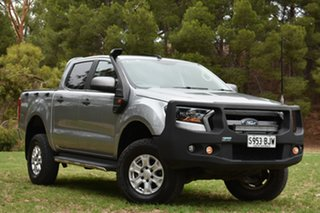 2015 Ford Ranger PX MkII XLS Double Cab Silver 6 Speed Sports Automatic Utility.