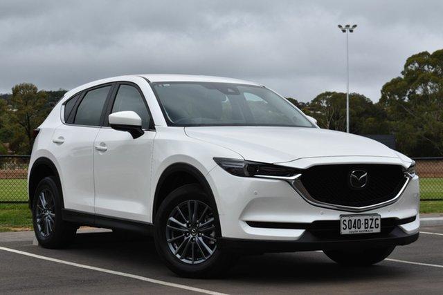 Used Mazda CX-5 KF4WLA Touring SKYACTIV-Drive i-ACTIV AWD, 2018 Mazda CX-5 KF4WLA Touring SKYACTIV-Drive i-ACTIV AWD White 6 Speed Sports Automatic Wagon