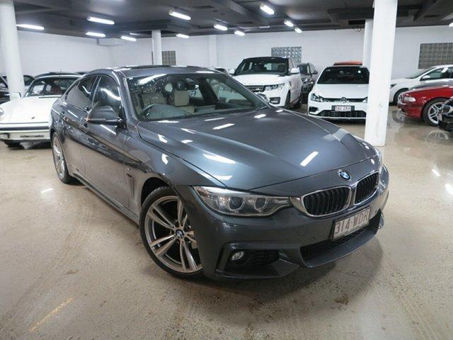 Used BMW 4 Series F36 420i Gran Coupe M Sport, 2016 BMW 4 Series F36 420i Gran Coupe M Sport Grey 8 Speed Sports Automatic Hatchback