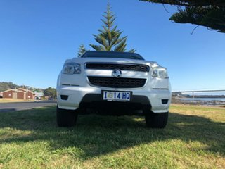 2015 Holden Colorado RG MY16 LS White 6 Speed Sports Automatic Cab Chassis