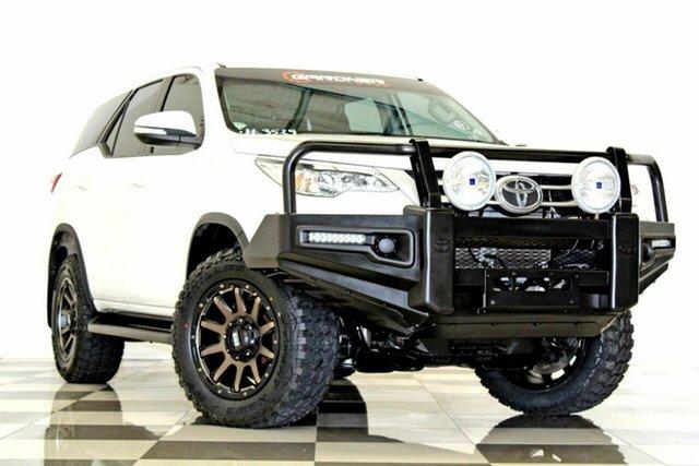 Used Toyota Fortuner GUN156R GX, 2016 Toyota Fortuner GUN156R GX White 6 Speed Automatic Wagon