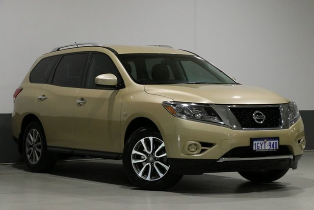 Used Nissan Pathfinder R52 ST (4x4), 2014 Nissan Pathfinder R52 ST (4x4) Gold Continuous Variable Wagon