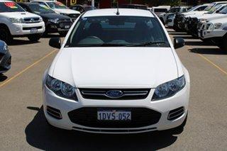 2012 Ford Falcon FG MkII Ute Super Cab White 6 Speed Sports Automatic Utility