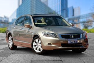 2009 Honda Accord 8th Gen VTi-L Beige 5 Speed Sports Automatic Sedan.