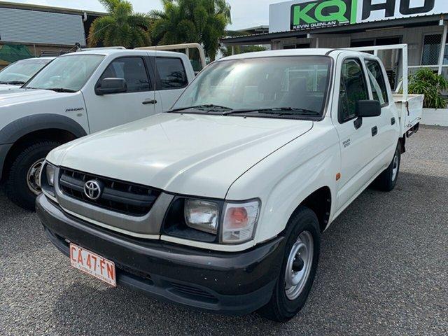 Used Toyota Hilux RZN149R MY02 4x2, 2003 Toyota Hilux RZN149R MY02 4x2 White 5 Speed Manual Utility