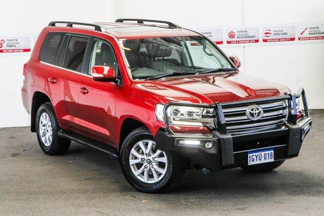 Used Toyota Landcruiser VDJ200R MY16 VX (4x4), 2017 Toyota Landcruiser VDJ200R MY16 VX (4x4) Merlot Red 6 Speed Automatic Wagon