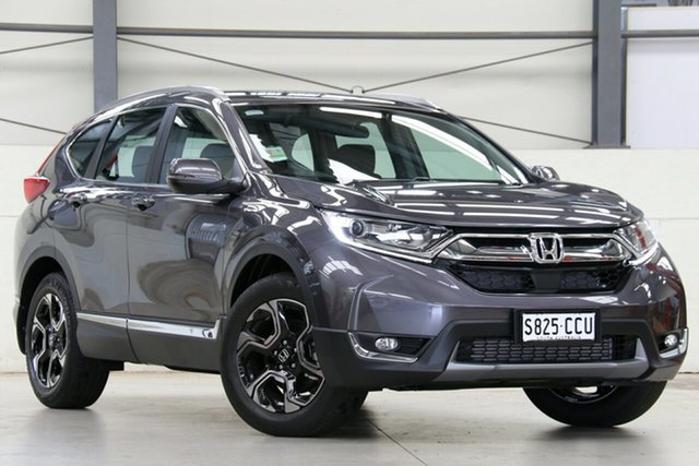 Demo Honda CR-V RW MY20 VTi-S 4WD, 2019 Honda CR-V RW MY20 VTi-S 4WD Modern Steel 1 Speed Constant Variable Wagon