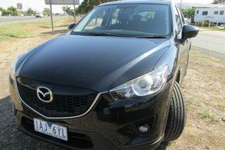 2013 Mazda CX-5 KE1031 MY14 Maxx SKYACTIV-Drive AWD Sport Black 6 Speed Sports Automatic Wagon.