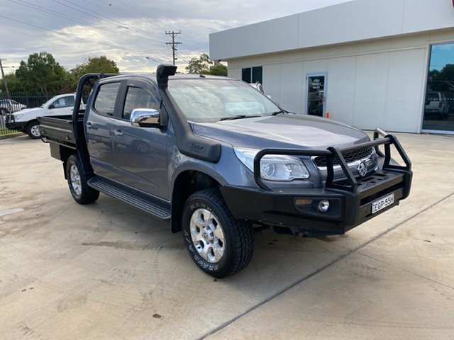 Used Holden Colorado RG MY16 LTZ Crew Cab, 2015 Holden Colorado RG MY16 LTZ Crew Cab Grey 6 Speed Manual Utility
