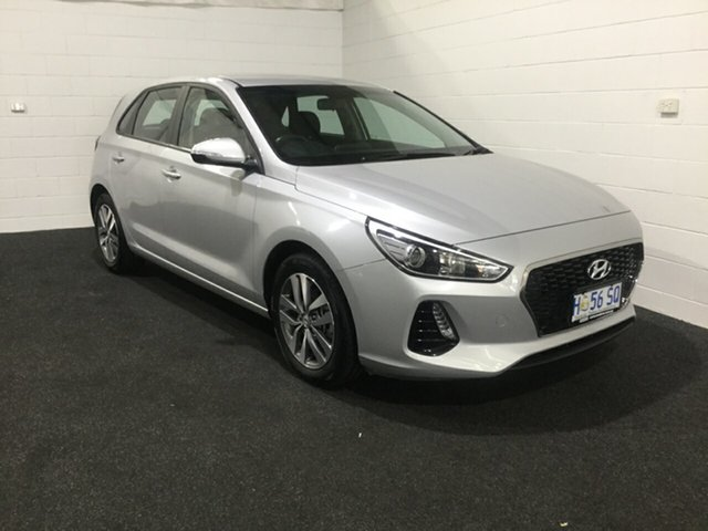 Used Hyundai i30 PD2 MY18 Active, 2018 Hyundai i30 PD2 MY18 Active Platinum Silver 6 Speed Sports Automatic Hatchback