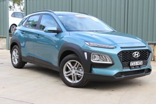 2019 Hyundai Kona OS.3 MY20 Active D-CT AWD Ceramic Blue 7 Speed Sports Automatic Dual Clutch Wagon