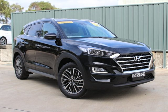 Demo Hyundai Tucson TL3 MY19 Elite 2WD, 2019 Hyundai Tucson TL3 MY19 Elite 2WD Phantom Black 6 Speed Automatic Wagon