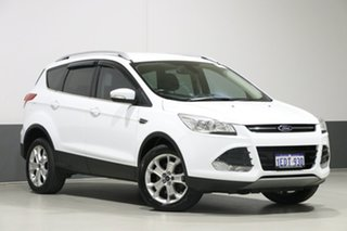 2013 Ford Kuga TE Trend White 5 Speed Automatic Wagon.