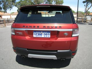 2014 Land Rover Range Rover Sport L494 MY14.5 SDV6 HSE Red 8 Speed Sports Automatic Wagon