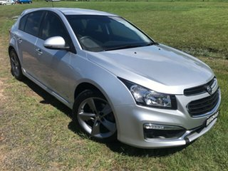 2016 Holden Cruze JH Series II MY16 SRI Z-Series Silver 6 Speed Sports Automatic Hatchback.