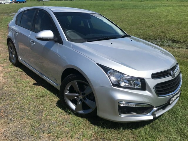 Used Holden Cruze JH Series II MY16 SRI Z-Series, 2016 Holden Cruze JH Series II MY16 SRI Z-Series Silver 6 Speed Sports Automatic Hatchback