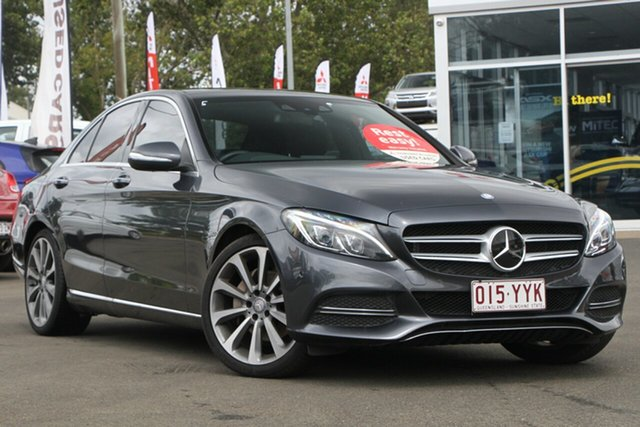 Used Mercedes-Benz C-Class W205 C250 BlueTEC 7G-Tronic +, 2014 Mercedes-Benz C-Class W205 C250 BlueTEC 7G-Tronic + Grey 7 Speed Sports Automatic Sedan
