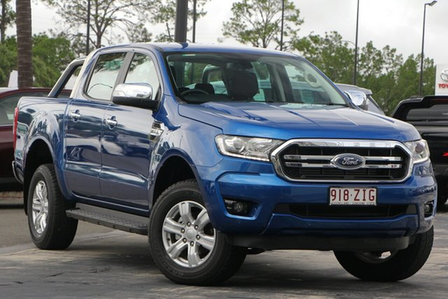 Used Ford Ranger PX MkIII 2019.00MY XLT Pick-up Double Cab, 2018 Ford Ranger PX MkIII 2019.00MY XLT Pick-up Double Cab Blue 6 Speed Sports Automatic Utility
