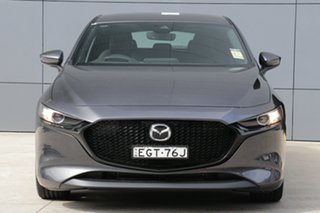 2019 Mazda 3 BP2H7A G20 SKYACTIV-Drive Touring Machine Grey 6 Speed Sports Automatic Hatchback