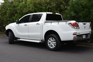 2013 Mazda BT-50 UP0YF1 XTR White 6 Speed Sports Automatic Utility.