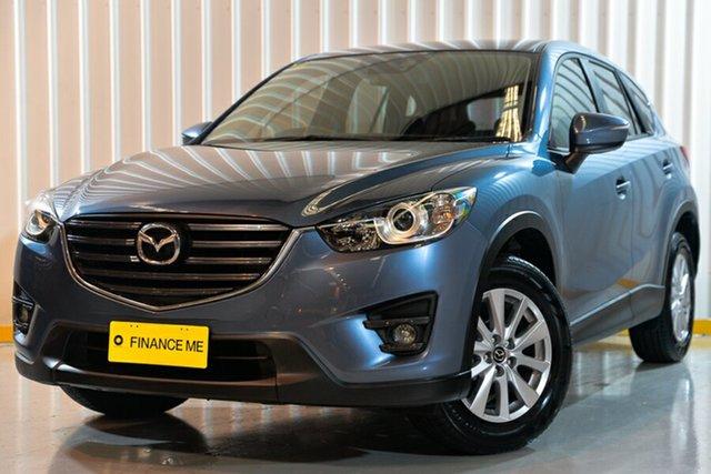 Used Mazda CX-5 KE1032 Maxx SKYACTIV-Drive AWD Sport, 2016 Mazda CX-5 KE1032 Maxx SKYACTIV-Drive AWD Sport Blue 6 Speed Sports Automatic Wagon
