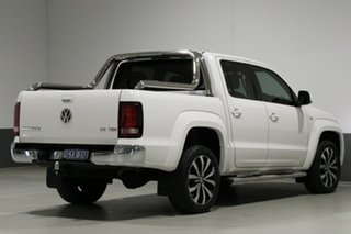 2017 Volkswagen Amarok 2H MY18 V6 TDI 550 Ultimate White 8 Speed Automatic Dual Cab Utility