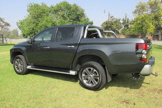 2018 Mitsubishi Triton MR MY19 GLS Double Cab Grey 6 Speed Sports Automatic Utility