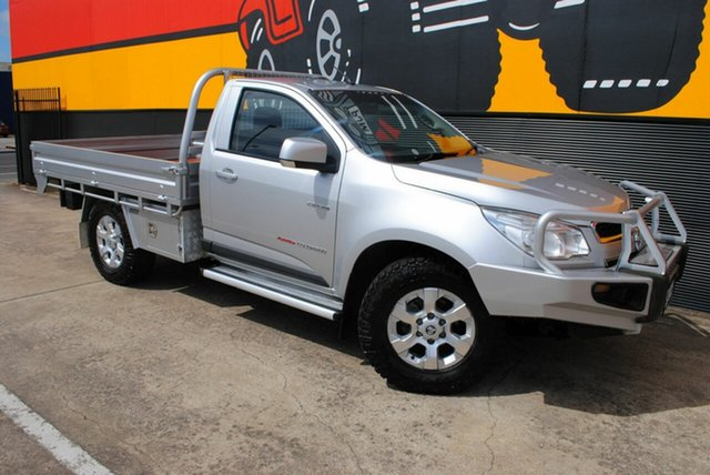 Used Holden Colorado RG MY13 LX, 2012 Holden Colorado RG MY13 LX Silver Ash 5 Speed Manual Cab Chassis