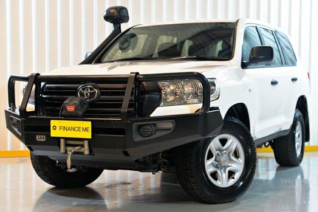 Used Toyota Landcruiser VDJ200R GX, 2017 Toyota Landcruiser VDJ200R GX White 6 Speed Sports Automatic Wagon