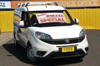2016 Fiat Doblo 263 Series 1 Low Roof LWB White 6 Speed Manual Van.