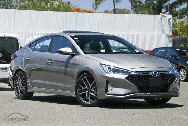 New Hyundai Elantra AD.2 MY20 Sport DCT Premium, 2019 Hyundai Elantra AD.2 MY20 Sport DCT Premium Fluidic Metal 7 Speed Sports Automatic Dual Clutch