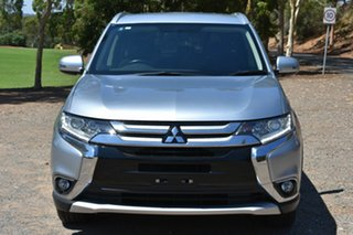 2015 Mitsubishi Outlander ZJ MY14.5 LS 2WD Silver 6 Speed Constant Variable Wagon