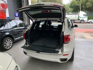 2014 BMW X5 F15 xDrive40d White Sports Automatic Wagon