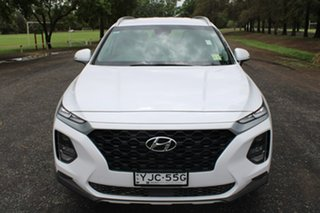 2018 Hyundai Santa Fe TM Active White Sports Automatic.