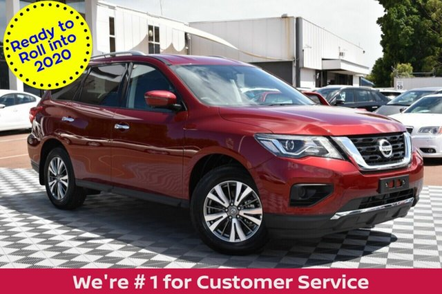 Demo Nissan Pathfinder R52 Series III MY19 ST+ X-tronic 4WD, 2019 Nissan Pathfinder R52 Series III MY19 ST+ X-tronic 4WD Redstone 1 Speed Constant Variable Wagon