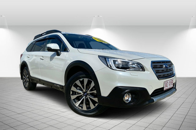 Used Subaru Outback B6A MY17 2.5i CVT AWD Premium, 2017 Subaru Outback B6A MY17 2.5i CVT AWD Premium White 6 Speed Constant Variable Wagon