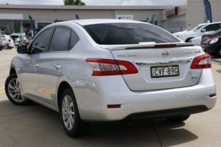 2013 Nissan Pulsar B17 ST-L Silver 6 Speed Manual Sedan.