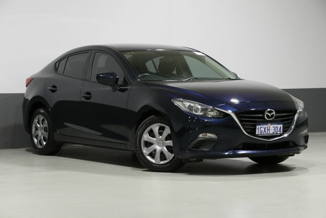 Used Mazda 3 BM Neo, 2014 Mazda 3 BM Neo Blue 6 Speed Automatic Sedan