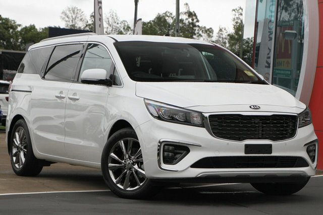 Used Kia Carnival YP MY20 Platinum, 2019 Kia Carnival YP MY20 Platinum Snow White Pearl 8 Speed Sports Automatic Wagon