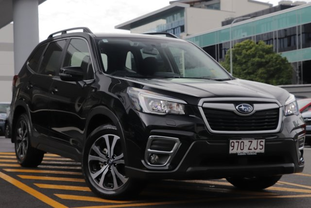 Demo Subaru Forester S5 MY20 2.5i Premium CVT AWD, 2019 Subaru Forester S5 MY20 2.5i Premium CVT AWD Crystal Black 7 Speed Constant Variable Wagon