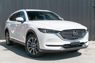 2019 Mazda CX-8 KG4W2A Asaki SKYACTIV-Drive i-ACTIV AWD Snowflake White Pearl 6 Speed.