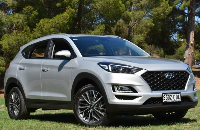 Demo Hyundai Tucson TL4 MY20 Active X 2WD, 2019 Hyundai Tucson TL4 MY20 Active X 2WD Platinum Silver 6 Speed Automatic Wagon