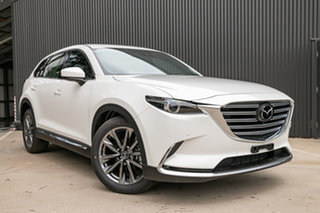2019 Mazda CX-9 TC Azami SKYACTIV-Drive Snowflake White Pearl 6 Speed Sports Automatic Wagon.