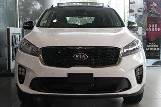2019 Kia Sorento UM MY20 Black Edition AWD Clear White 8 Speed Sports Automatic Wagon.