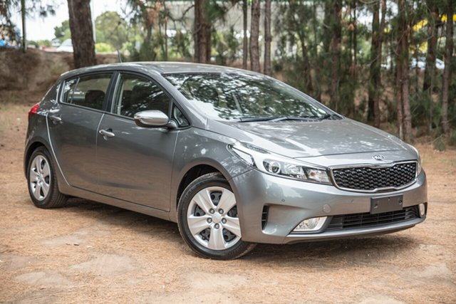 Used Kia Cerato YD MY17 S, 2016 Kia Cerato YD MY17 S Grey 6 Speed Sports Automatic Hatchback