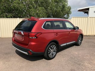 2017 Mitsubishi Outlander ZK MY17 LS 2WD Maroon 6 Speed Constant Variable Wagon