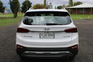 2018 Hyundai Santa Fe TM Active White Sports Automatic