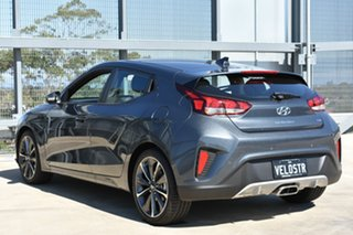 2019 Hyundai Veloster JS MY20 Coupe Dark Knight 6 Speed Automatic Hatchback