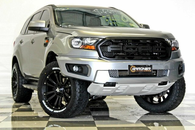Used Ford Everest UA MY18 Ambiente (RWD 5 Seat), 2017 Ford Everest UA MY18 Ambiente (RWD 5 Seat) Silver 6 Speed Automatic Wagon